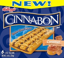 Cinnabon-y goodness in a convenient, individually wrapped bar!